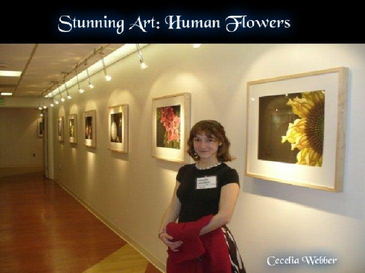 Stunning Art: Human Flowers
