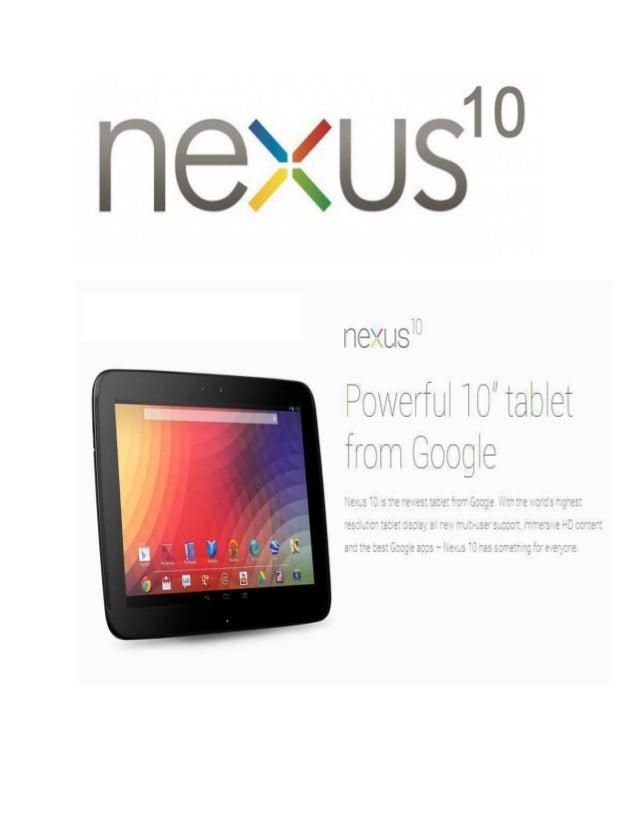 Stunning Feature of Nexus 10