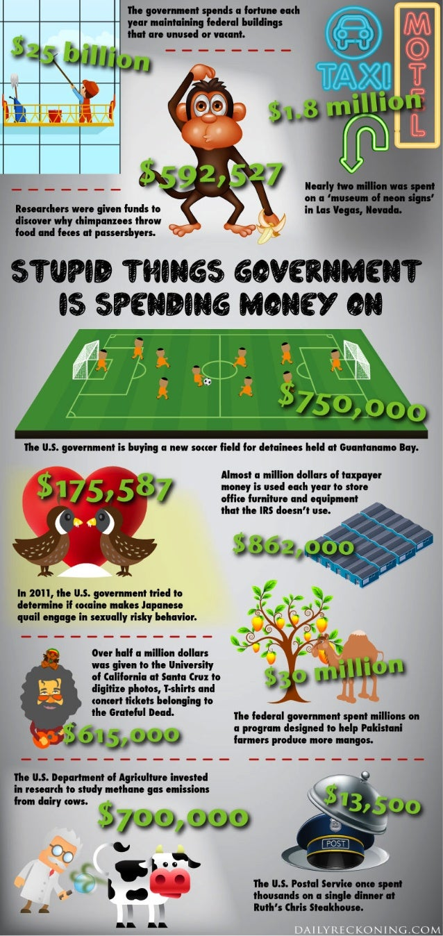 Stupid Things the Government Spends Money On