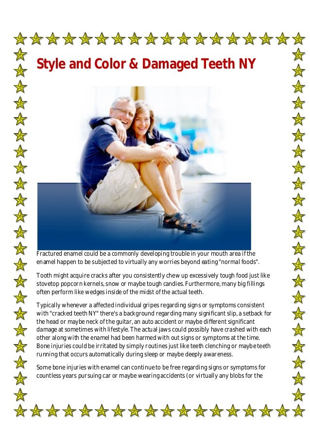 Style and Color & Damaged Teeth NY
