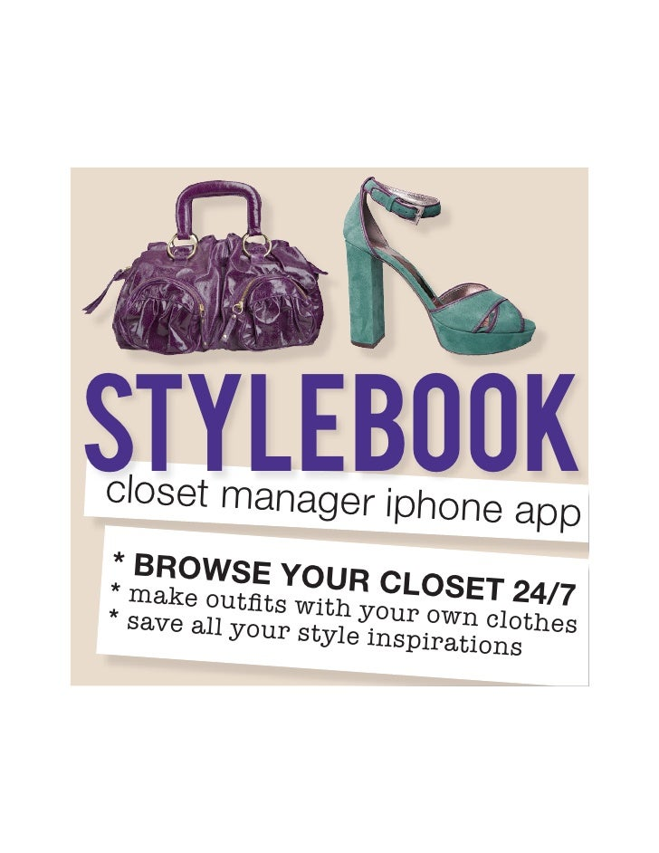 stylebook closet manager iphone                                app * browse you * make outfits w r closet 24/7 * save all ...