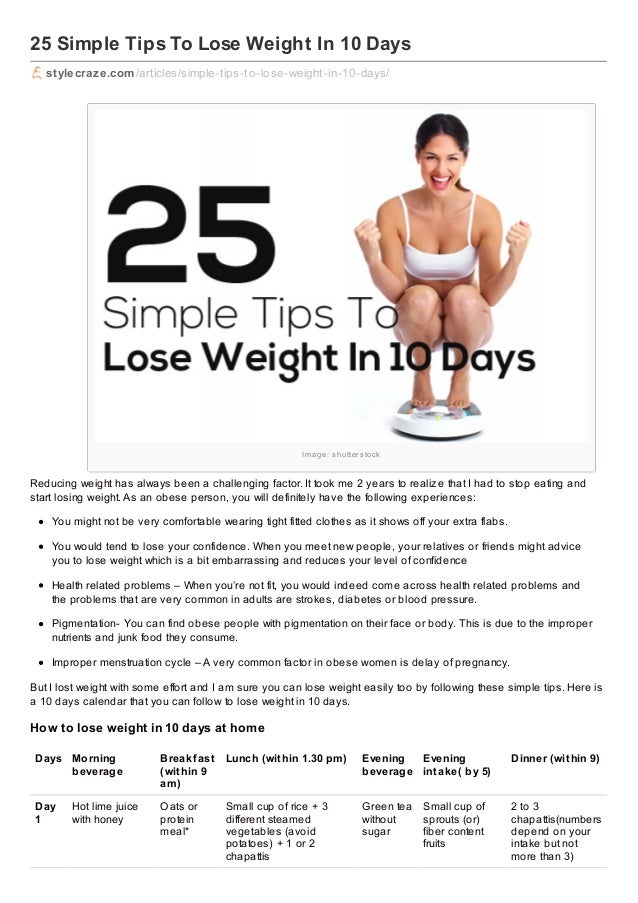 pyraplex tips to lose weight