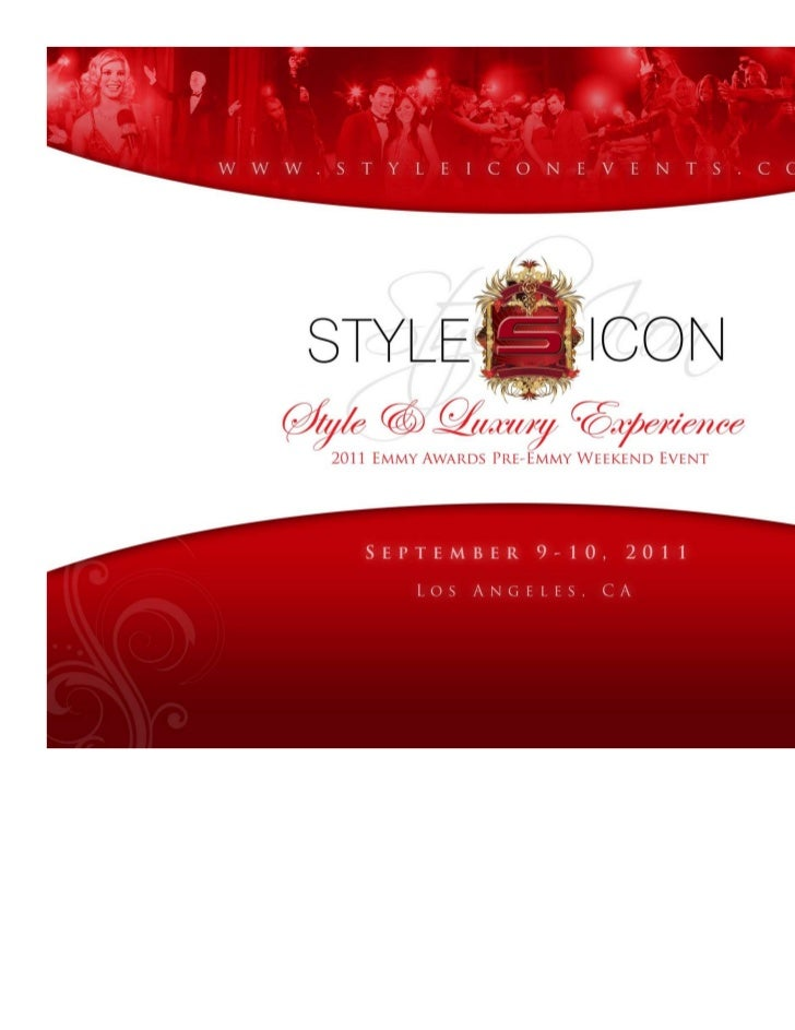 Style Icon 2011 Pre Emmy Weekend