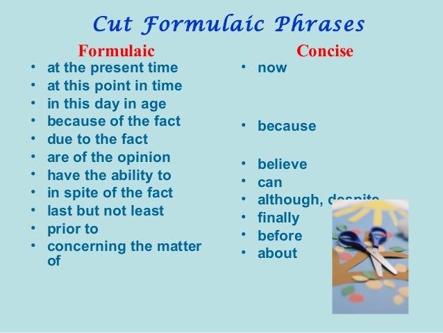 Essay writing wordiness