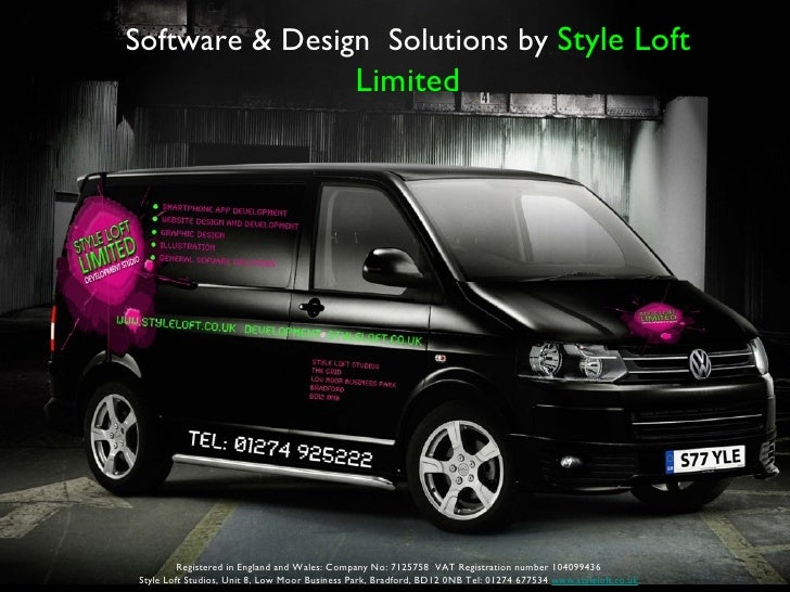 Software & Design Solutions by Style Loft                                              Limited         Registered in Engla...