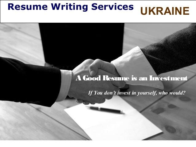 Resume Writing Services Ukraine