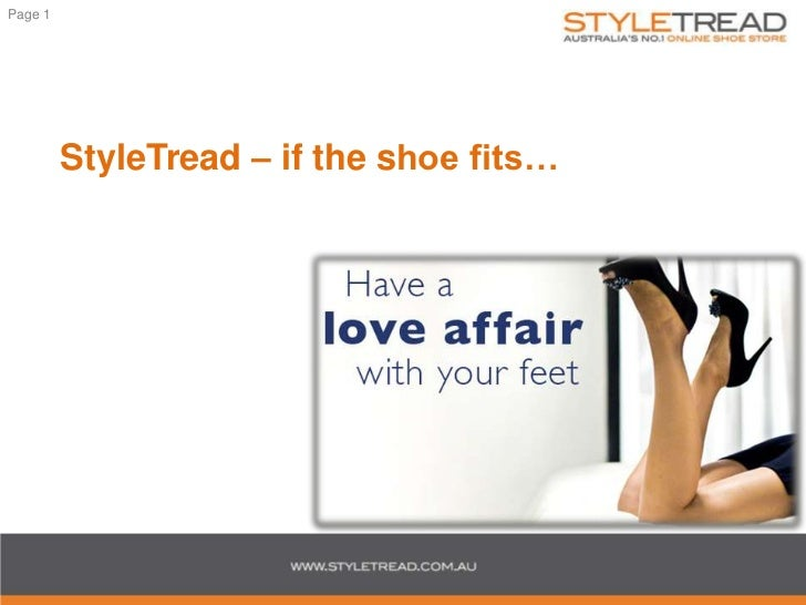 StyleTread – if the shoe fits…<br />