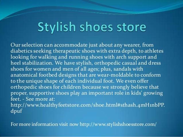 Stylish shoes store