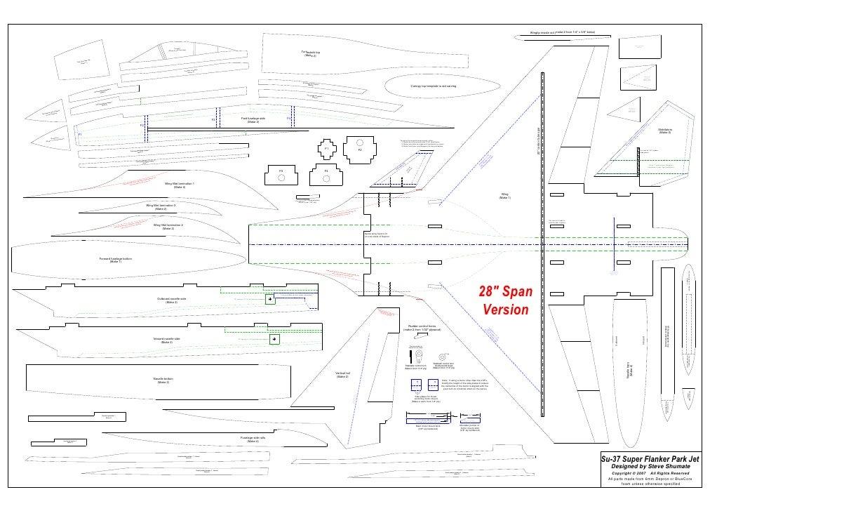 Charming Guest Home Plans #2: Su-37-park-jet-plans-parts-templates-28-in-span-1-728.jpg?cb=1267011709