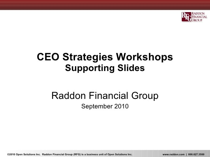 Su10 ceo workshop_supporting slides