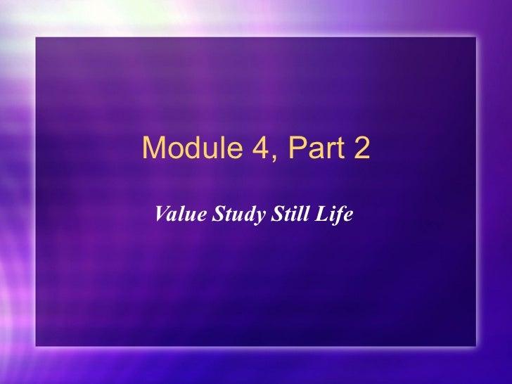 Su 2011 value study still life