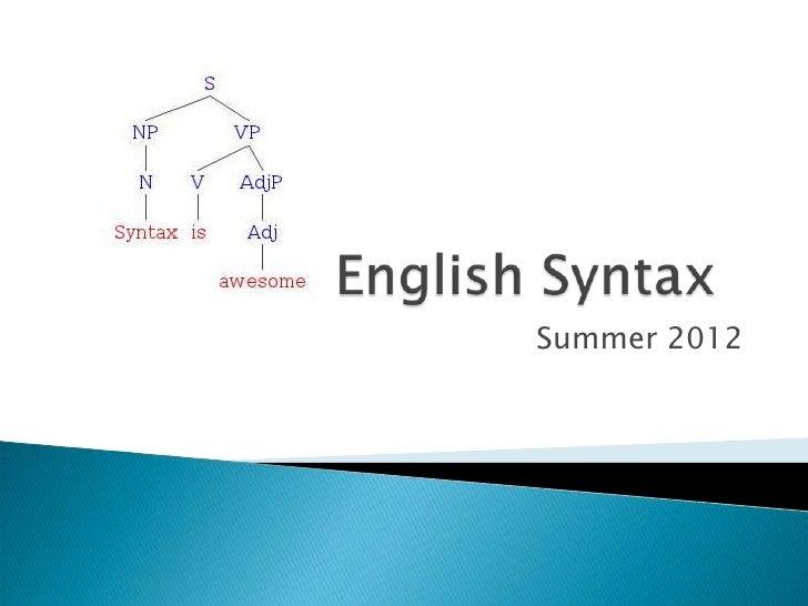 Su 2012 ss syntax(1)