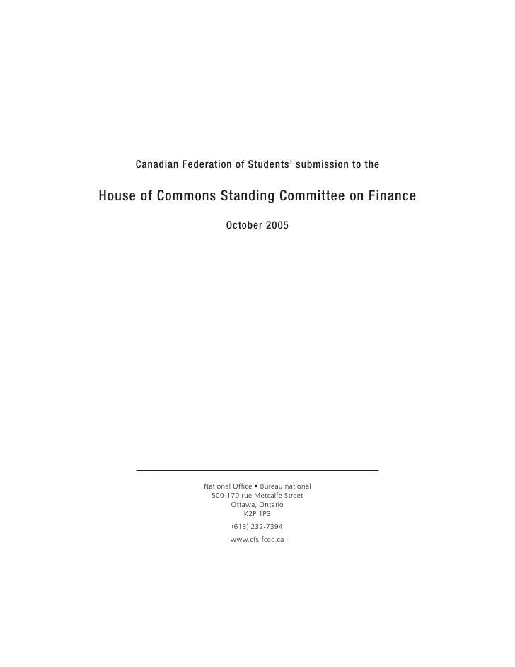 Sub 2005 Financectteebrief