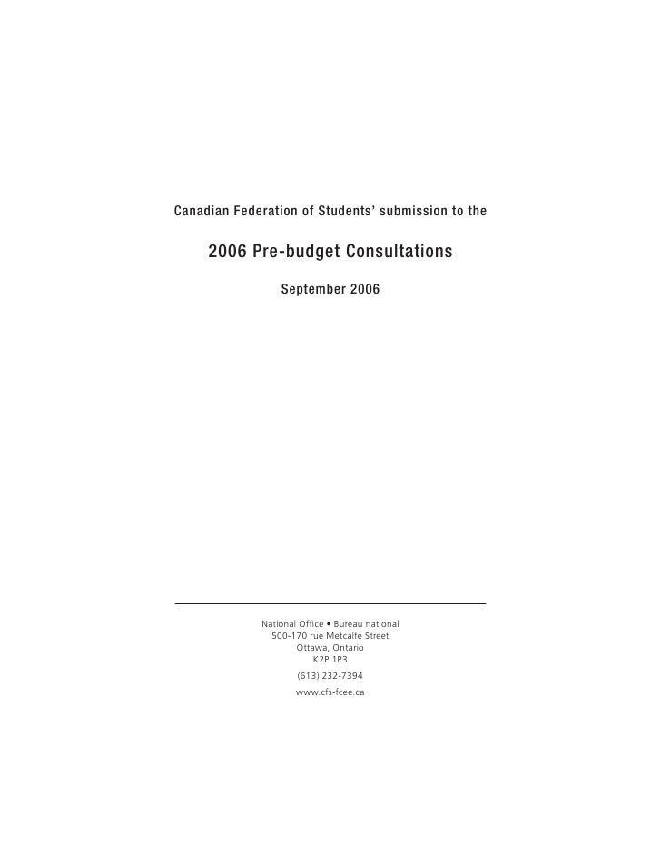 Sub 2006 Financectteebrief