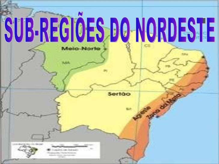 Sub região do nordeste
