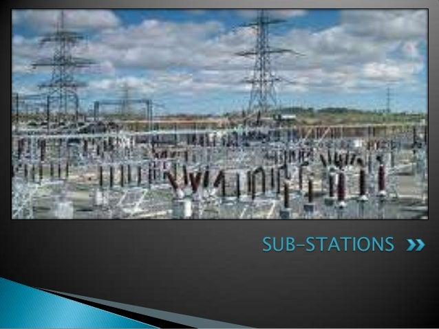 SUB-STATIONS