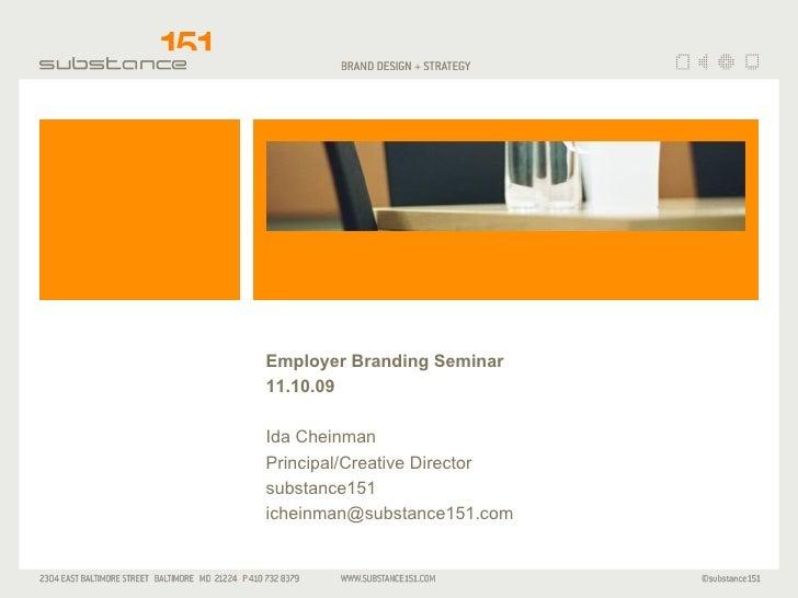 Sub151 Employer Branding