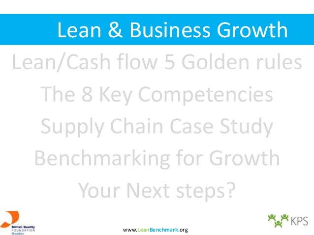 Lean benchmarking and value chain optimisation for 10 day trial lean cuisine