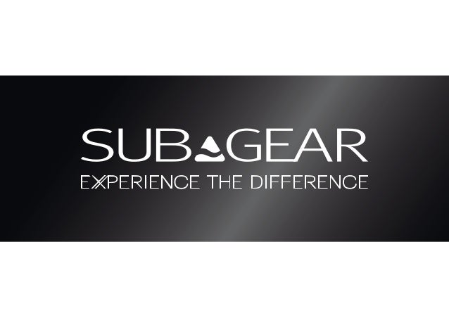 Subgear Catalogue 2012