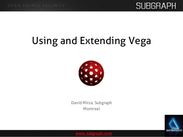 Subgraph vega countermeasure2012