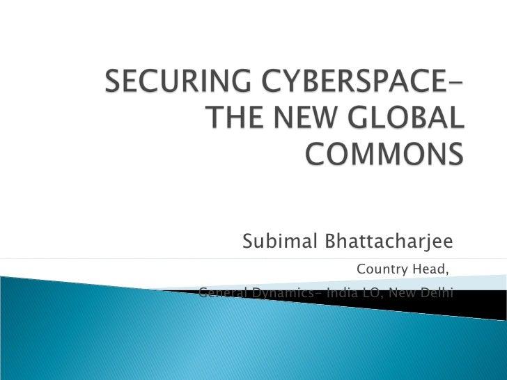 Subimal Bhattacharjee Country Head,  General Dynamics- India LO, New Delhi