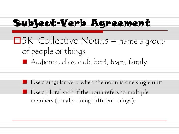 23 Rules In Subject Verb Agreement Essay Uni Essay