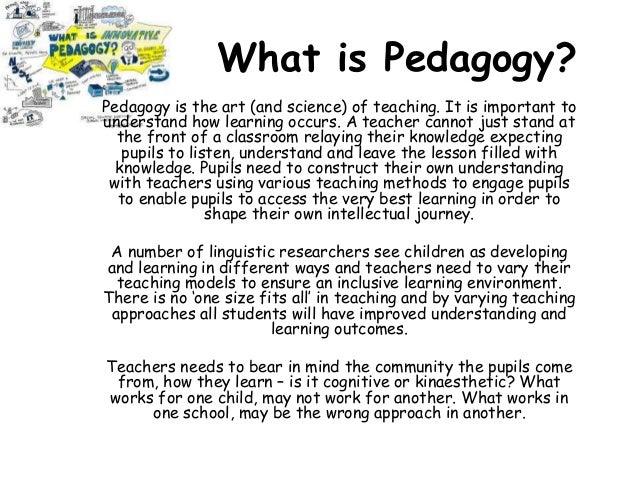 Subject Pedagogy - Reading
