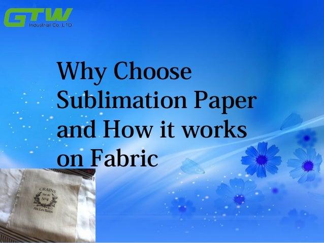 sublimation fabric