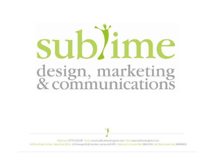 Sublime Presentation