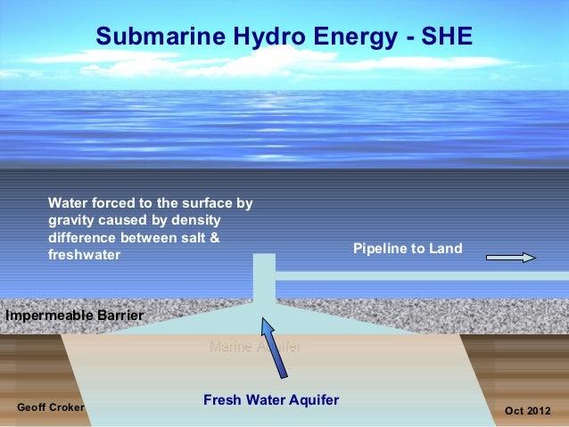 Submarine hydro energy
