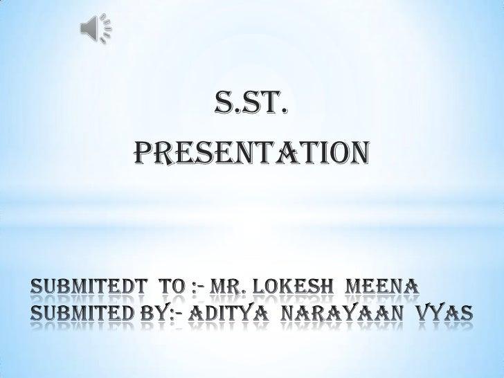 S.ST.Presentation