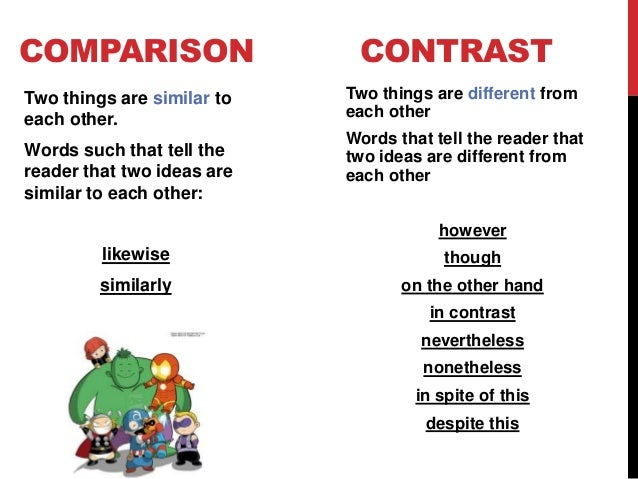 compare and contrast essays transitions You will find examples of transition words and phrases from various sources in the internet transitions addition indeed compare and contrast transition words.