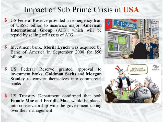 the sub prime crises essay Essay on the subprime mortgage crisis 1374 words 6 pages the subprime mortgage crisis the argument over who is at fault for the housing market collapse has been a heated issue amongst government, politicians, banking institutions, and mortgage lenders the subprime mortgage crisis is an ongoing financial issue.