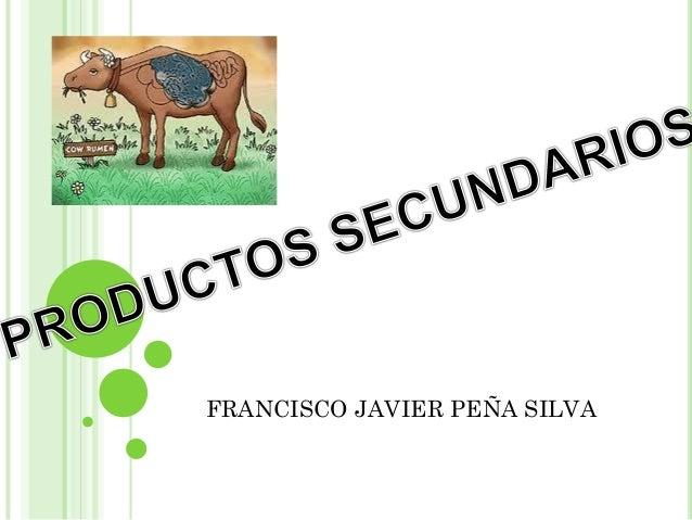 FRANCISCO JAVIER PEÑA SILVA