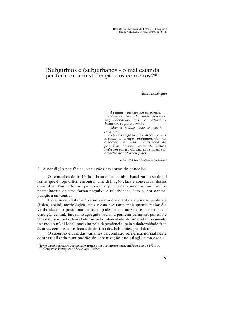 Revista da Faculdade de Letras — Geografia                                                          I Série, Vol. X/XI, Po...