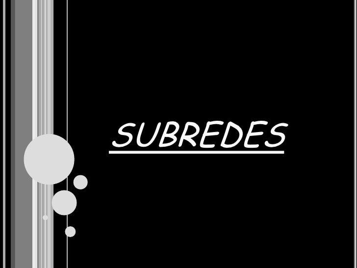 MASCARA DE SUBRED Y SUBREDES