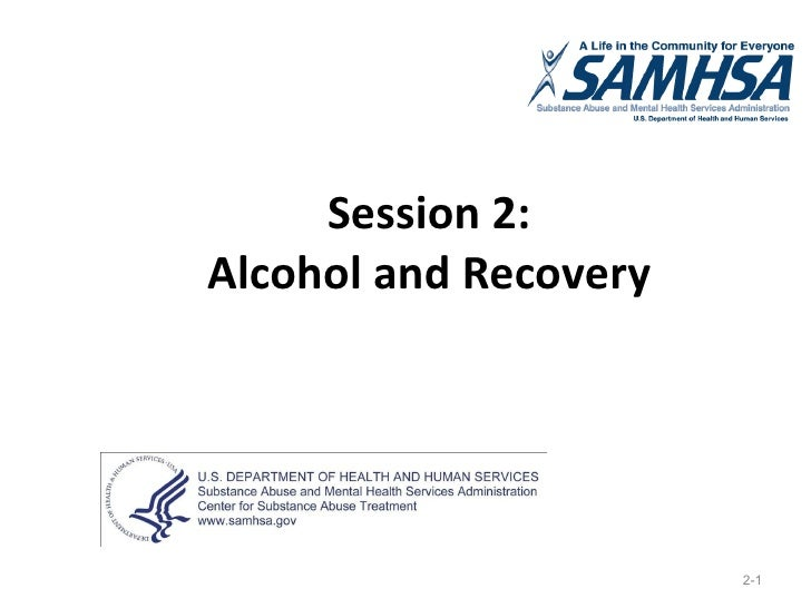 Session 2: Alcohol and Recovery 2-