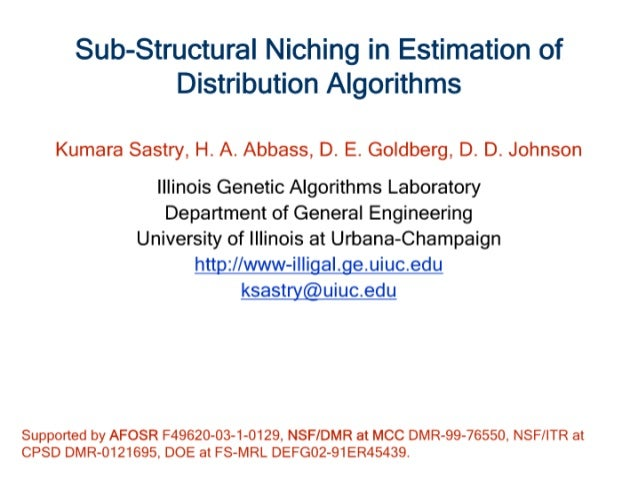 Sub-Structural Niching in Estimation of Distribution Algorithms