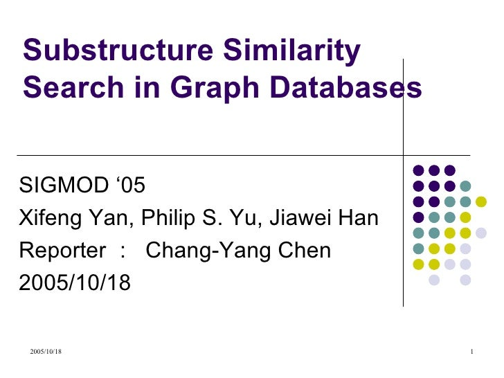Substructure Similarity Search in Graph Databases