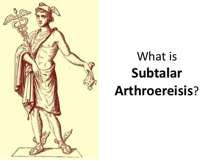 What is   SubtalarArthroereisis?