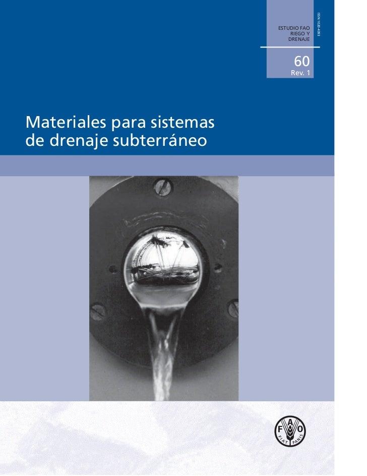 ISSN 1020-4393                           ESTUDIO FAO                                RIEGO Y                               ...