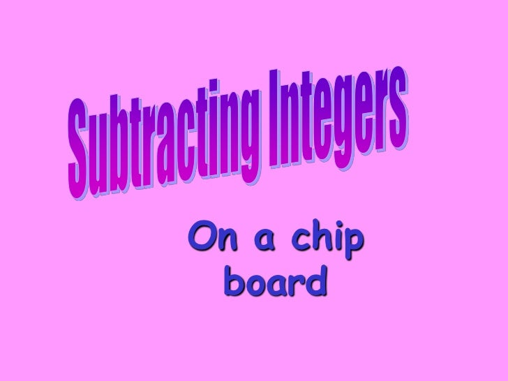 On a chip board