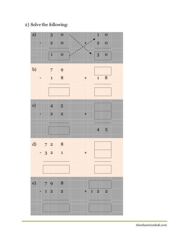 math worksheet : maths subtraction worksheet cbse grade ii  : Subtracting 0 1 2 Worksheets