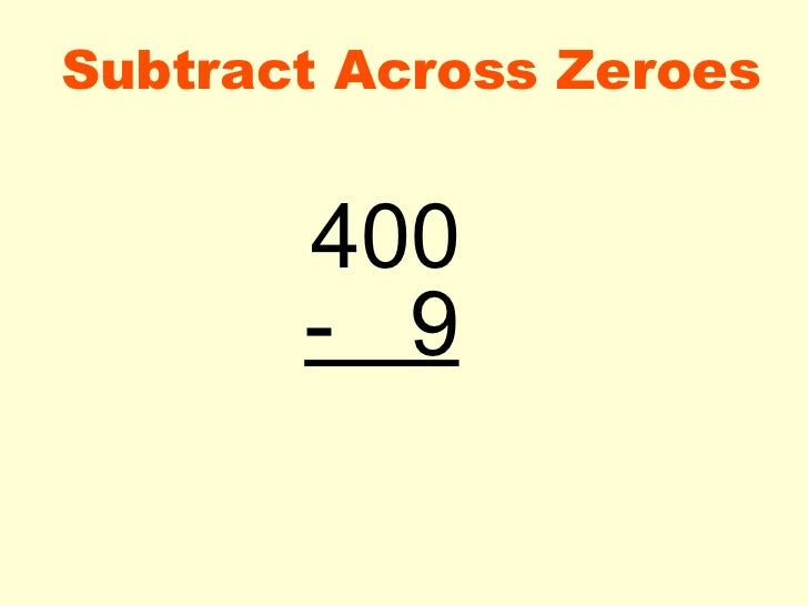 Subtraction Worksheets subtraction worksheets with regrouping – Subtraction Across Zeros Worksheets