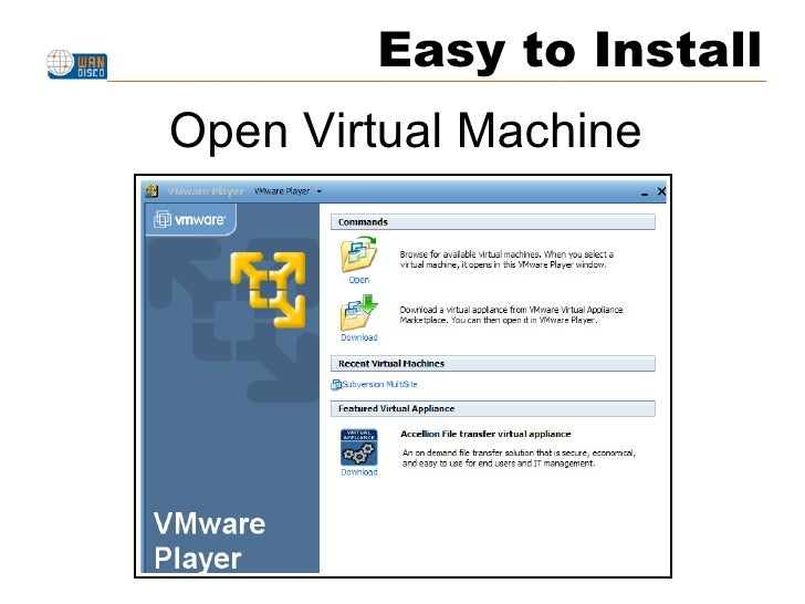 Easy to Install Open Virtual Machine
