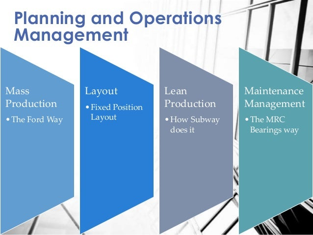 maintenance management essay Why are companies using maintenance management systems find out the key benefits they're realizing.