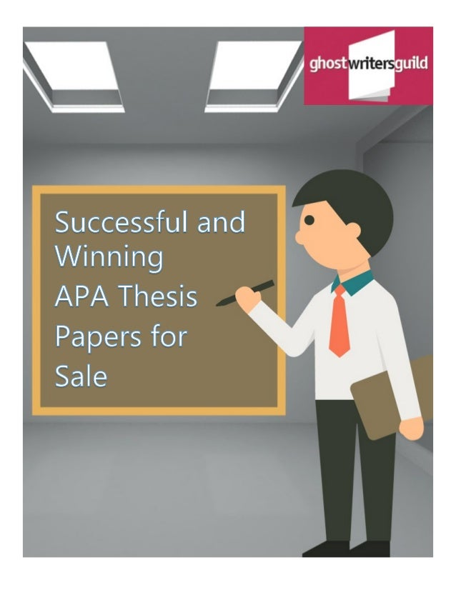 Thesis Writing Pdf
