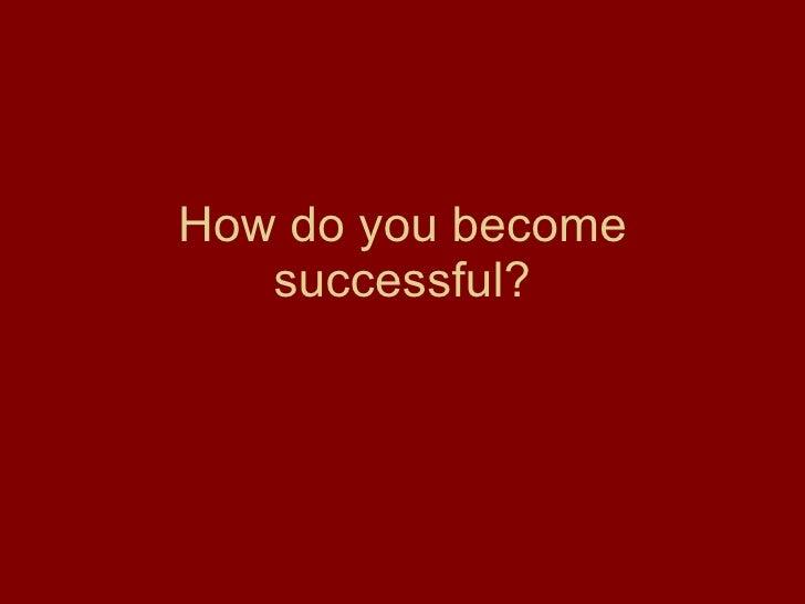 Success in Life