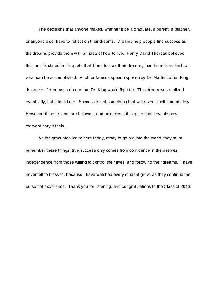 Success essay