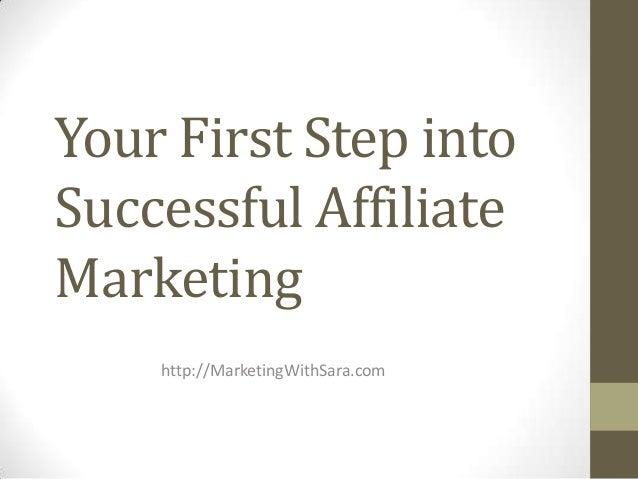 Successful affiliate-marketing